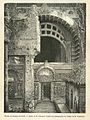 The entry to the vestibule of the chaitya, an engraving by Catenacci published in a French work, c.1887.jpg