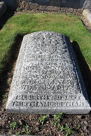Nigel Playfair - The grave of Nigel Playfair, Eastern Cemetery, St Andrews