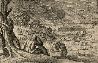 Flood myth - Image: The great flood Biblical