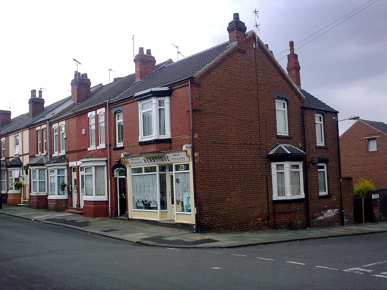 File The Hairdresser S Salon Situated On Lister Avenue In