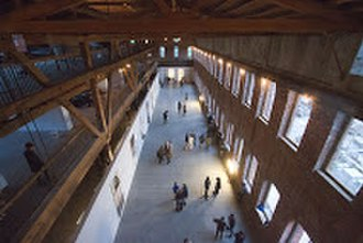 Pioneer Works - The main hall at Pioneer Works, which has hosted major art exhibitions and large scale concerts and events