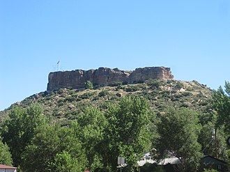 "Douglas County, Colorado - The ""rock"" of Castle Rock, Colorado"
