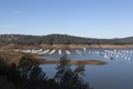 The yacht basin on Lake Oroville, above the city of the same name. The reservoir was created by damming the Feather River LCCN2013631158.tif
