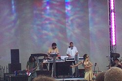 Thievery Corporation beim Lollapalooza Festival 2006