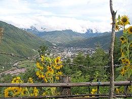 Thimphu – Veduta