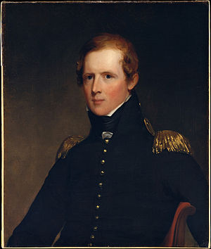 John Biddle (Michigan politician) - Portrait of Biddle by Thomas Sully, 1818