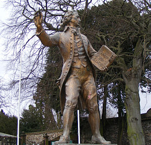 Thetford - Statue of Thomas Paine