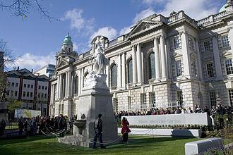 Titanic Memorial, Belfast - The opening of the Titanic Memorial Garden on 15 April 2012