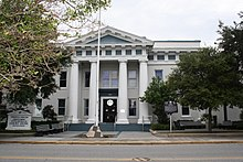 Historic Brevard County Courthouse in Titusville.