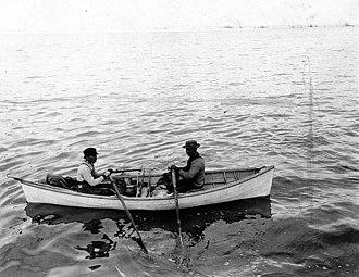Taku Inlet - Tlingit hair seal hunters at Taku Inlet, May 1911