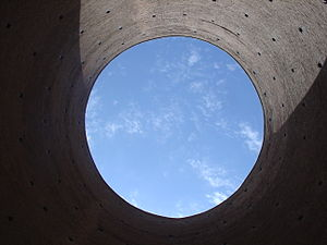 Circle - Tughrul Tower from inside