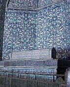 Tomb of Mohammed Rahim Khan at the Pahlavan Mahmoud Mausoleum, Khiva.jpg