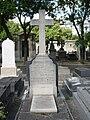 Tombe Alfred Des Cloizeaux, Cimetière du Montparnasse.jpg