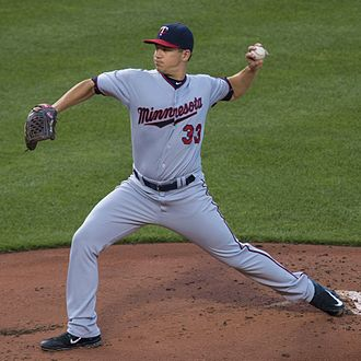 Tommy Milone - with the Twins in 2015