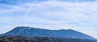 Tomorr Mountain view from Berat Castle.jpg