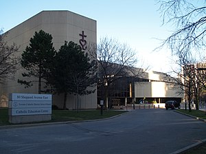 Cardinal Carter Academy for the Arts - Image: Toronto Catholic School Board HQ