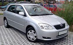 Toyota Corolla Fünftürer (2001–2004)