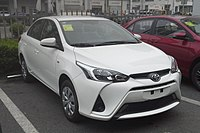 Toyota Yaris L sedan 01 China 2017-04-06.jpg