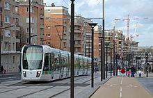 Tramway d 39 le de france wikip dia - Tramway porte des lilas ...