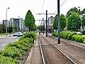 Tramway de Rouen - Plateforme - Pavés auto-bloquants.jpg