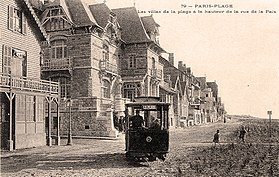 image illustrative de l'article Tramway du Touquet-Paris-Plage