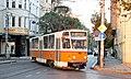 Tramway in Sofia in Alabin Street 2012 PD 041.jpg