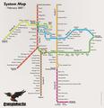 Transjakarta Busway Map February 2007.png