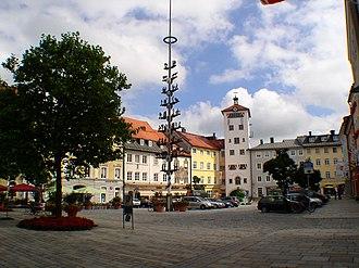 Traunstein - Market Square, Traunstein