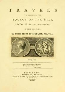 Travels to Discover the Source of the Nile - In the Years 1768, 1769, 1770, 1771, 1772, and 1773 volume 3.djvu