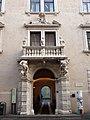 Trento-Palazzo Sardagna-portal and balcony.jpg