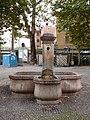 Trento-fountain in Piedicastello-north.jpg