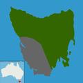 Tribonyx mortierii range map.png