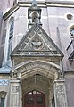 Trinity Chapel Complex later Serbian Orthodox Cathedral of Saint Sava front door view.jpg