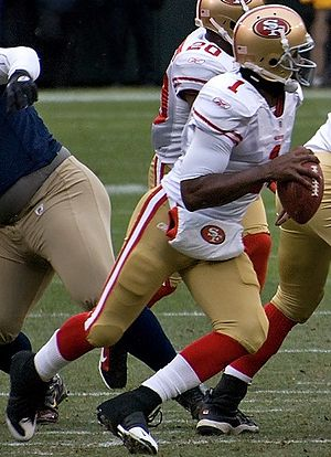 Troy Smith - Smith with the 49ers.