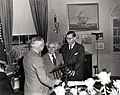 Truman receives menorah.jpg