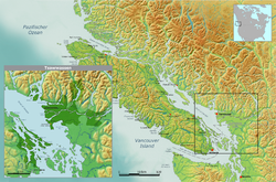 Traditional Tsawwassen tribal territory