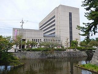 Tsu, Mie City in Japan