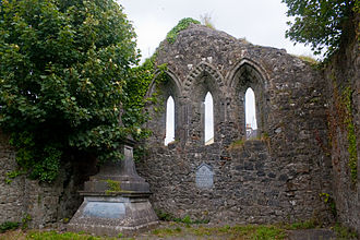 Iarlaithe mac Loga - Ruins of Teampall Jarlath, a 13th-century parish church in Tuam, dedicated to Iarlaithe