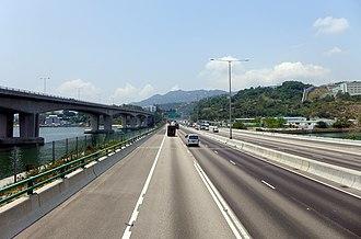 Tuen Mun Road - Tuen Mun Road Tai Lam Section in 2015