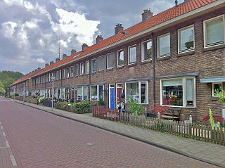 Tuindorp Oostzaan Neighborhood of Amsterdam in North Holland, Netherlands
