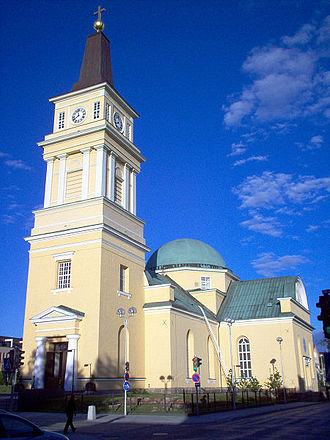 Oulu Cathedral - Oulu Cathedral seen from west