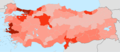 Turkey population density by province 2014.png