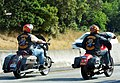 Two Bandidos on the road - cropped, Gaussian blur on license plates.jpg