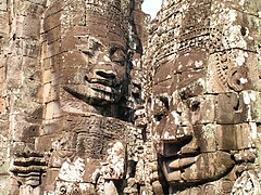 Two Khmer Heads-Angkor Wat.jpg