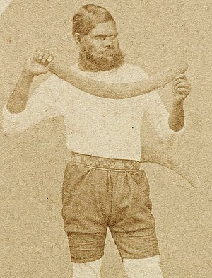 Twopenny (cricketer) - Image: Twopenny Cricketer
