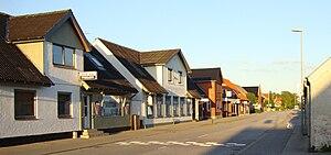 Tylstrup - Tylstup, the village centre