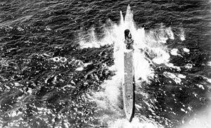 German submarine U-71 (1940) - Image: U 71 Luftangriff