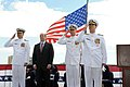 U.S. 7th Fleet conducts a change of command. (9407621957).jpg