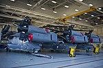 U.S. Air Force CV-22 Osprey tiltrotor aircraft are shown in a hangar at Hurlburt Field, Fla., Oct. 3, 2013 131003-F-RS318-236.jpg