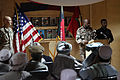 U.S. Army Col. James H. Johnson, second from right, and Jordanian army Col. Aref Alzebn, right, brief Afghan residents before they embark on a trip to Amman, Jordan, on the Voices of Moderate Islam (VOMI) 100825-A-UH396-067.jpg